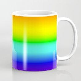 Vivid Rainbow Gradient Coffee Mug