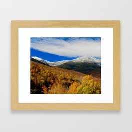 The Presidential Range Framed Art Print
