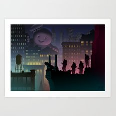 It just popped in there! Art Print
