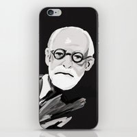 freud iPhone & iPod Skins featuring Freud  by BJD124
