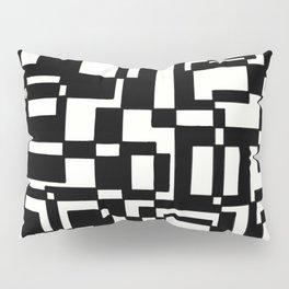 Squares Black´n´White Pillow Sham