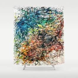 Celestial Recombining Shower Curtain