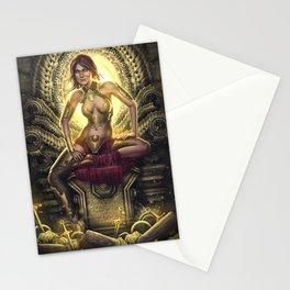 Wealth Goddess Stationery Cards