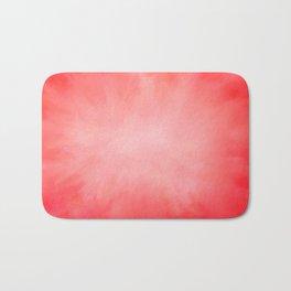 Pink Coral Watermelon Bath Mat