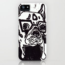 Louie The French Bulldog iPhone Case