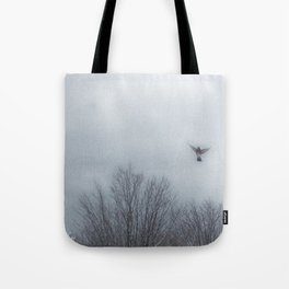 """Lori's First Robin"" Tote Bag"
