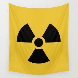 Radiation Hazard Symbol Wall Tapestry