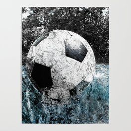 Modern soccer version 1 Poster