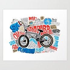 All My Bikes: STA-L Art Print