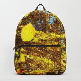 Fall's Golden Moments, an October vignette Backpack