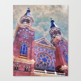 St. Mary's Catholic Church Canvas Print