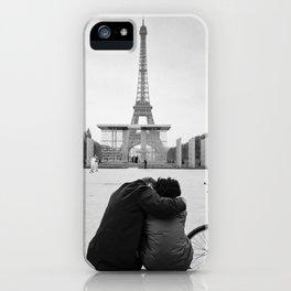 Paris Lovers iPhone Case