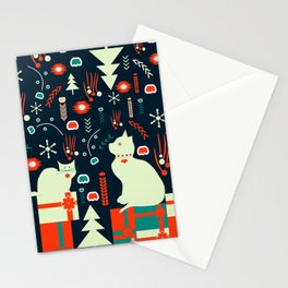 Look what Santa brought Stationery Cards