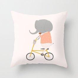 Margaux Rides Throw Pillow