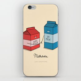 Milkshake iPhone Skin