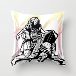 Cleo-Muse of History 2 Throw Pillow