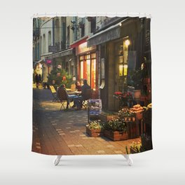 Evening in Provence Village Shower Curtain