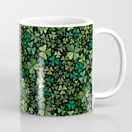 Luck in a Field of Irish Clover Coffee Mug
