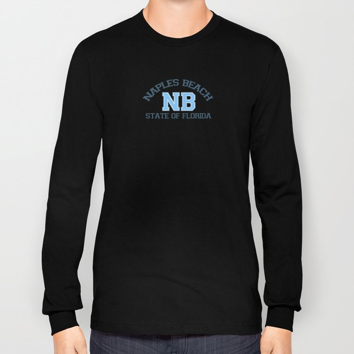 Naples Beach - Florida. Long Sleeve T-shirt
