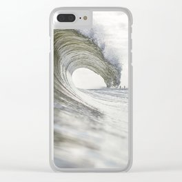 Peaceful Energy Clear iPhone Case