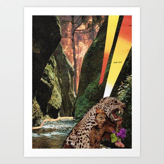 salvia Art Print