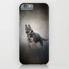 Feet First - German Shepherd Puppy iPhone 6s Slim Case