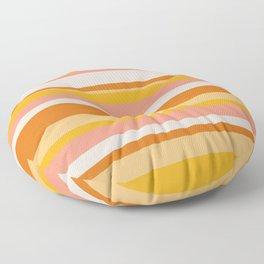 sedona, desert stripes Floor Pillow