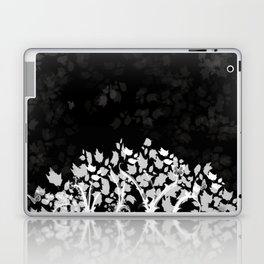 The Zen Tree - White on Black Laptop & iPad Skin
