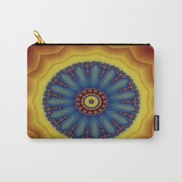 "Kaliedoscope/Mandala - ""Waves"" Carry-All Pouch"