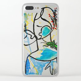 Imagination  #society6  #decor  #buyart Clear iPhone Case
