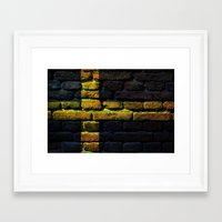 sweden Framed Art Prints featuring Sweden by Nicklas Gustafsson