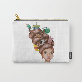 Childhood Cartoon Girl Drawing (Disn ey) Carry-All Pouch