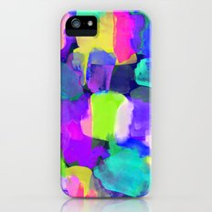 Brushstroke Blue iPhone (5, 5s) Slim Case