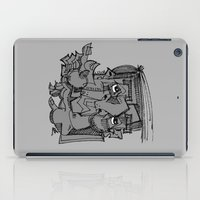 gnome iPad Cases featuring Gnome by 5wingerone