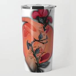 Roses on your hands Travel Mug