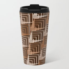 Op Art 114 Metal Travel Mug