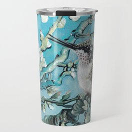 Almond Blossom with Hummingbirds III Travel Mug