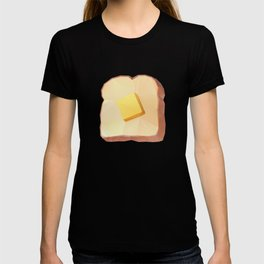 Toast with Butter polygon art T-shirt
