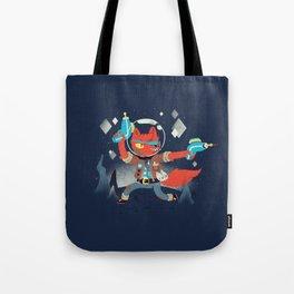 Bounty Hunter Space Cat Killa Tote Bag