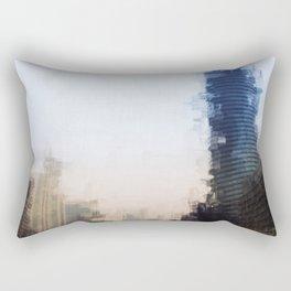 London Abstract Rectangular Pillow