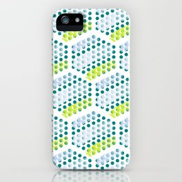 Cool Crystals Pattern iPhone Case