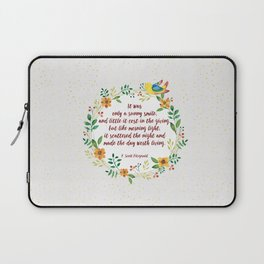 F.S. Fitzgerald  Laptop Sleeve
