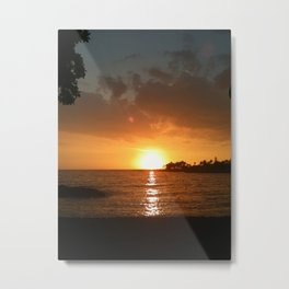 Waiting for the green flash.... Metal Print