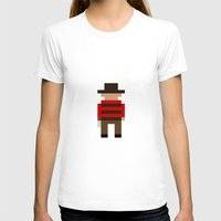 freddy krueger T-shirts featuring Freddy Krueger / A Nightmare on Elm Street by Pixel Icons