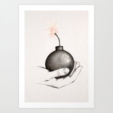 Play with Fire Art Print