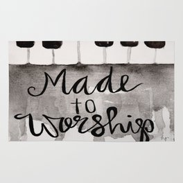 Made To Worship  Rug