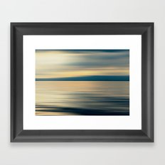 CLOUD SHADOW DREAM Framed Art Print