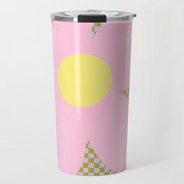 Flower Land Travel Mug