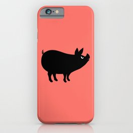 Angry Animals: Piggy iPhone Case