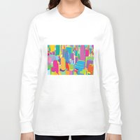 cityscape Long Sleeve T-shirts featuring Cityscape by Glen Gould